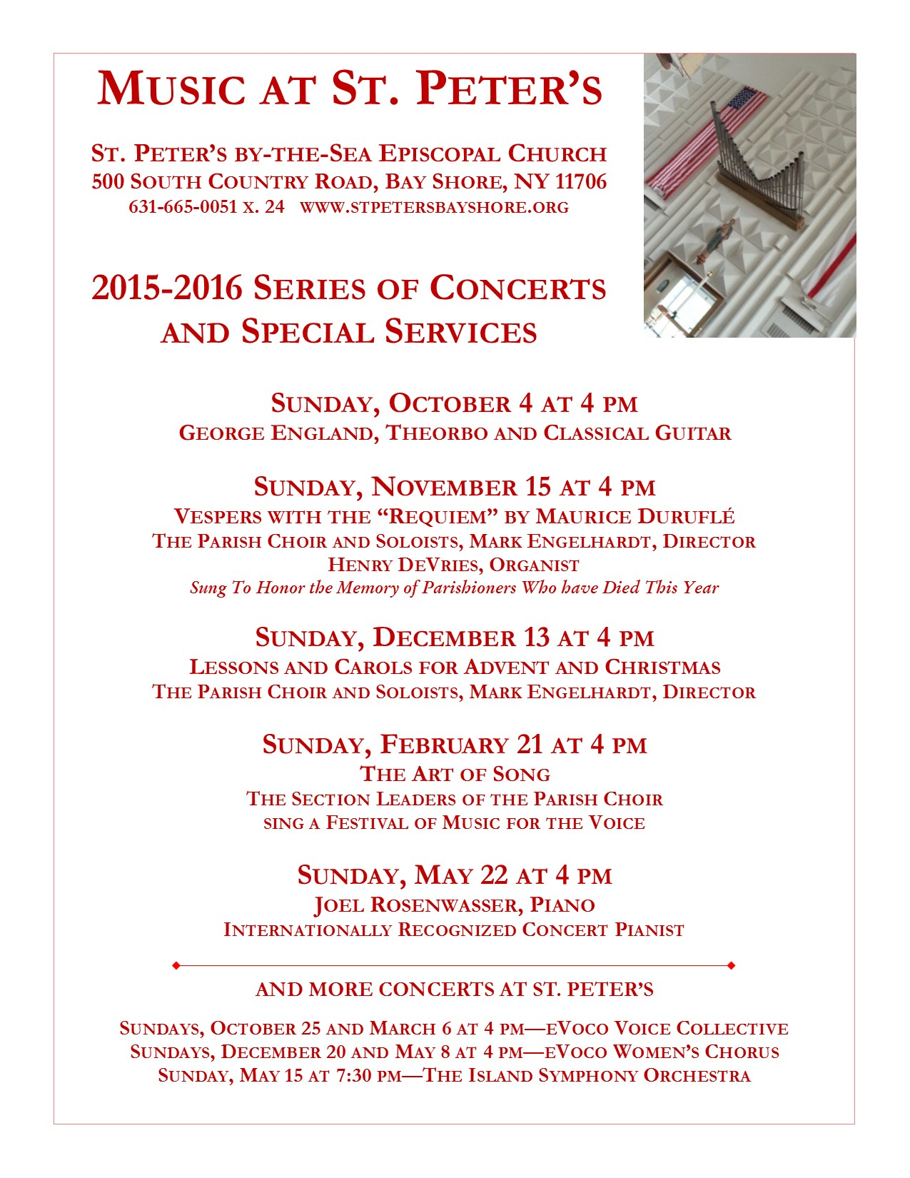Concert Series Poster